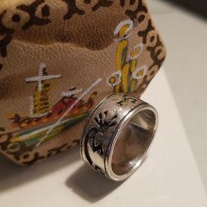 Sterling silver Kokopelli ring!
